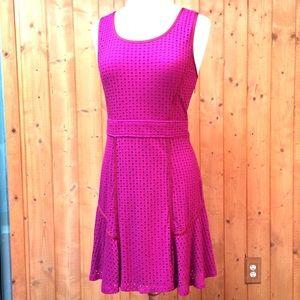 Marc Jacobs Hot Pink Sleeveless A Line Dress M